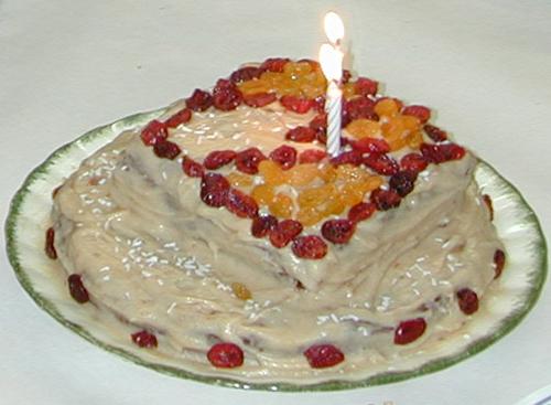 Miriam's birthday cake from 2007