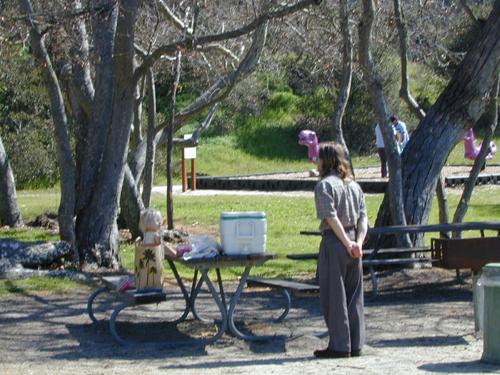 Miriam & Michael picnicking in Toro Park