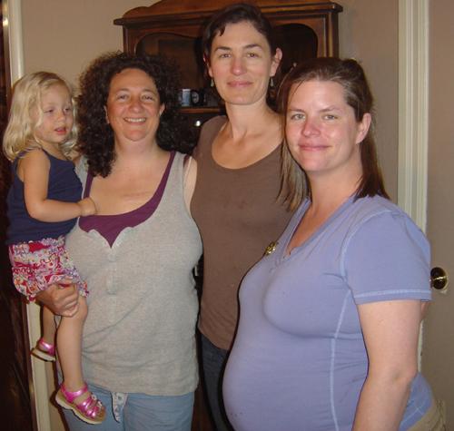 Miriam, Cyndi, Jessica, Monica