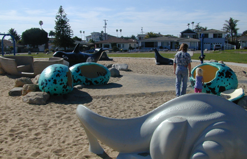 Shell Beach Play Structures
