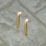 Shabbus candles