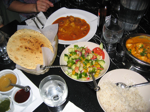 India Bistro Dinner for six