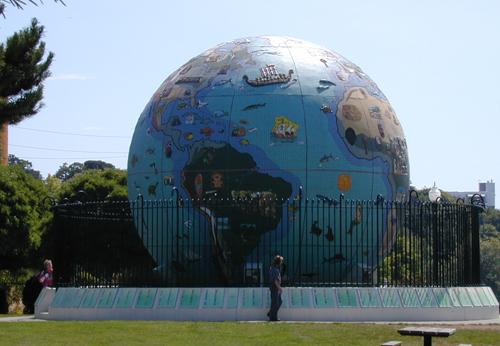 Eco Earth Globe Western Hemisphere