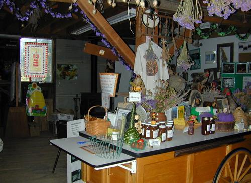 Peterson's Farm Barn Interior