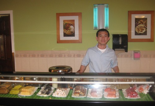 Raymond the sushi chef