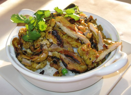Barbecue Chicken Rice Pot