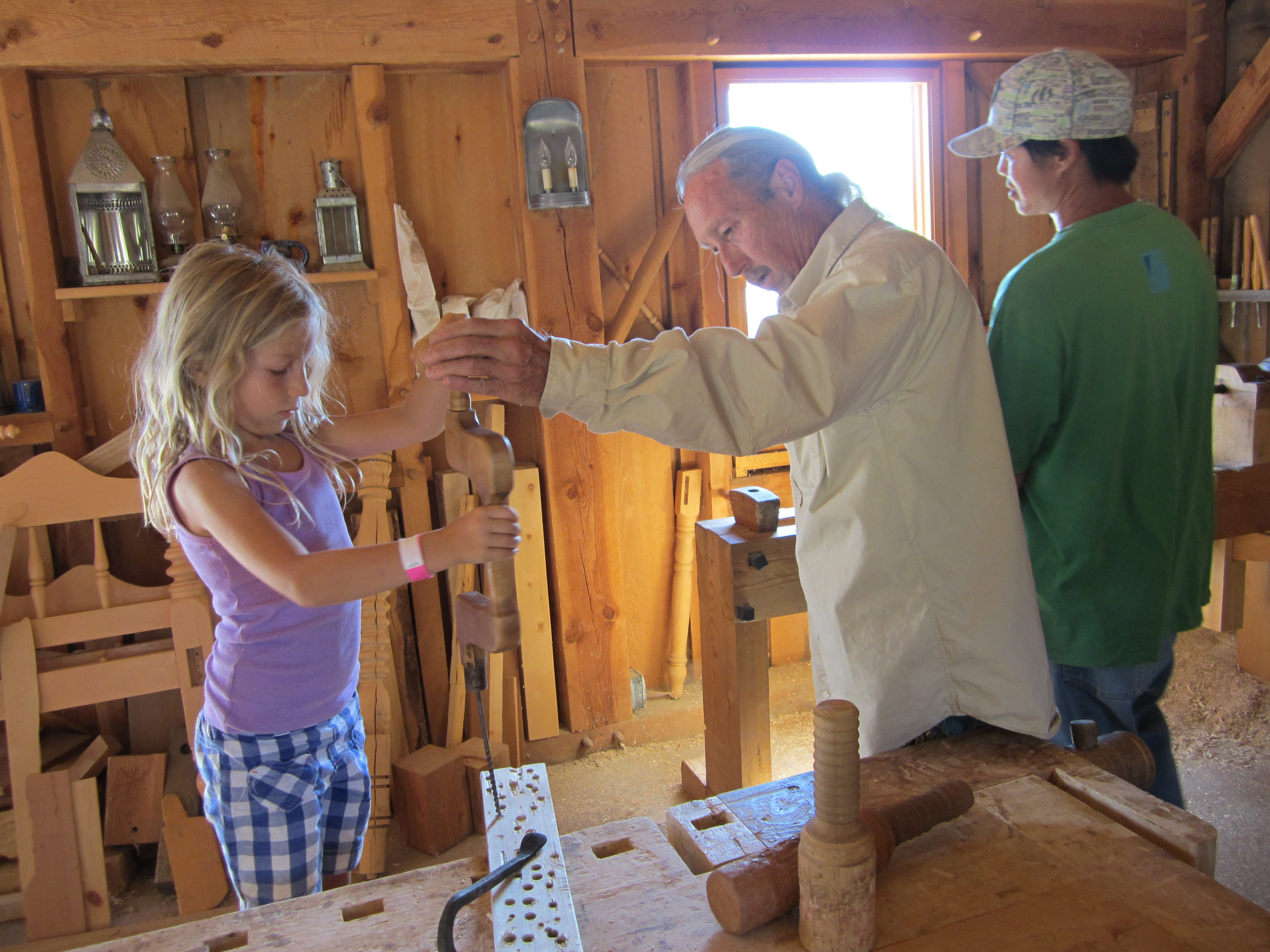 pioneer woodworking tools