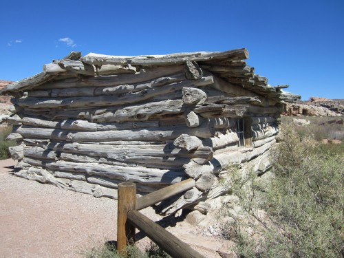 Wolfe Ranch cabin, Arches National Park, Utah