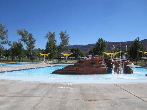 Outdoor pool Moab, Utah