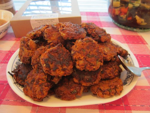 Latkes to eat
