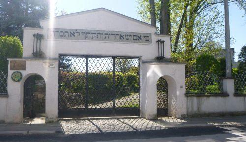 Zilina Cemetery Entrance